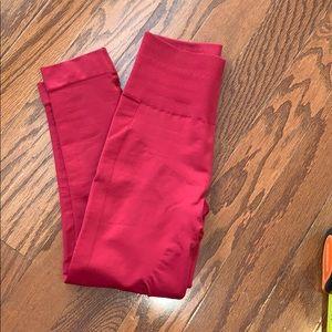 Compression seamless lululemon crop leggings